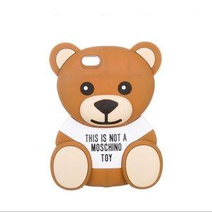 Moschino Teddy Bear IPhone 7 Plus or 8 plus case